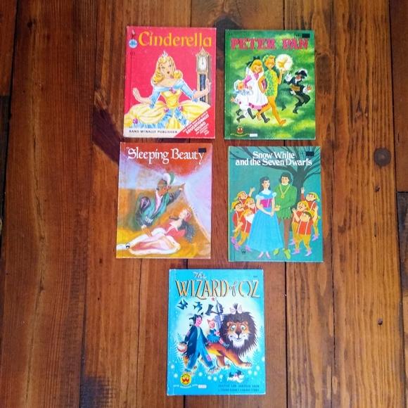 Vintage Children Books Bundle
